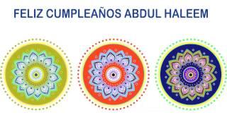 AbdulHaleem   Indian Designs - Happy Birthday