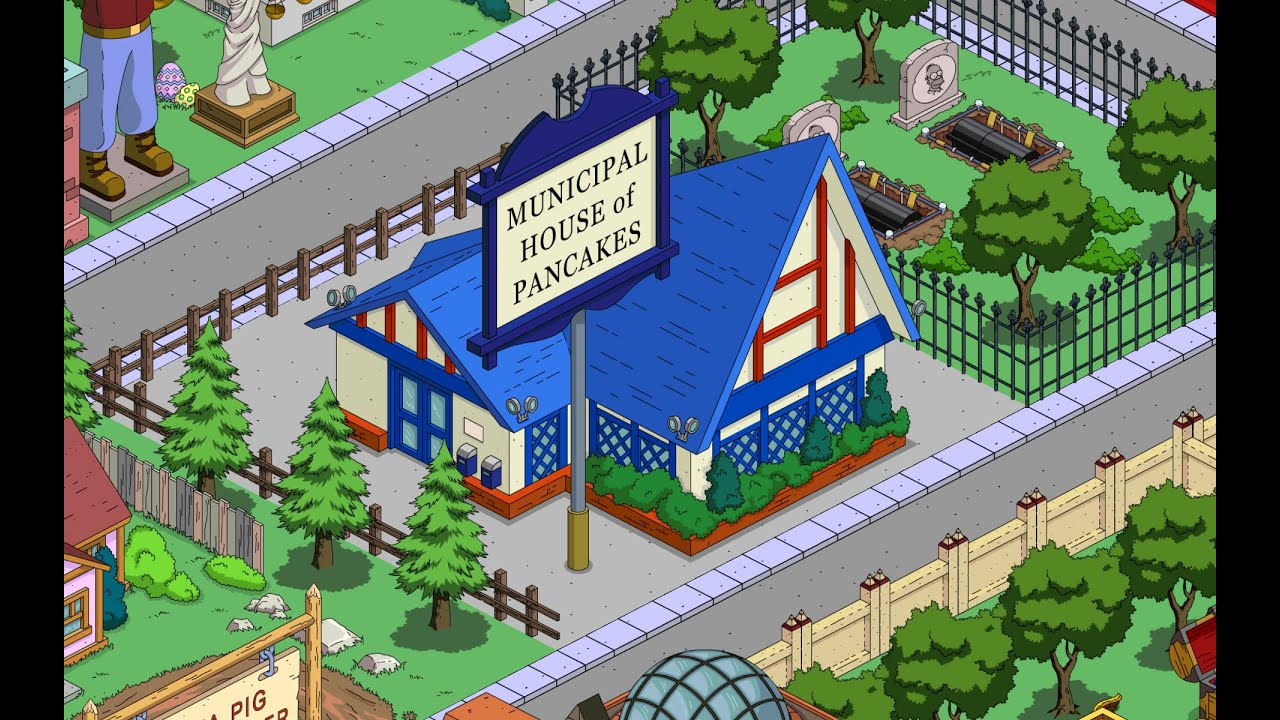 The Simpsons Tapped Out Municipal House of Pancakes