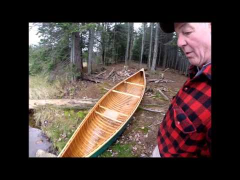 Adirondack Canoe In Deer Hunt, Lows Lake, NY, Part 1