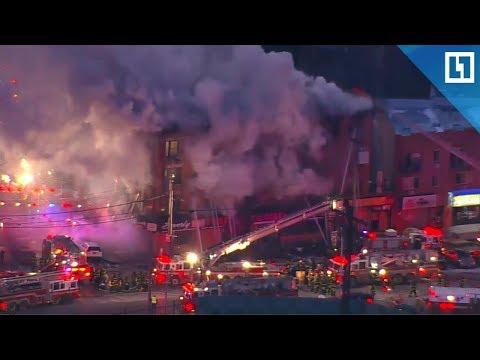 Крупнейший пожар в Бронксе