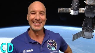 Interview with ESA Astronaut Luca Parmitano with timestamped sections