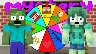 Monster School : MYSTERY WHEEL CHALLENGE - Minecraft Animation