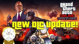 GTA Online New DLC Update Arena War