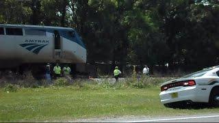 Amtrak Train Silver Star Runs Over And Kills Pedestrian