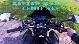 capitulo 11, review Honda CB500F ABS