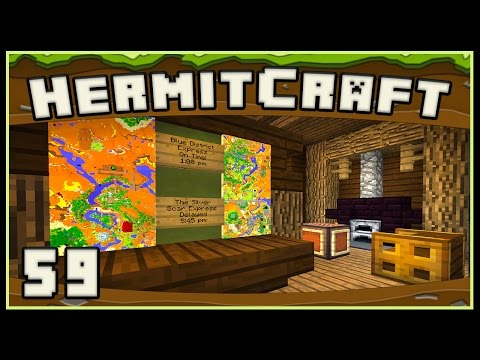 HermitCraft 4 - Minecraft: Interior Design Is So Much Fun!