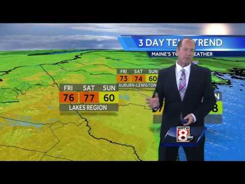Roger's Thursday evening forecast