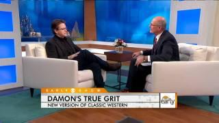 "Matt Damon's ""True Grit"""