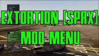 Extortion Mod Menu Gta 5 Ps3 Cracked