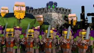 Minecrat | CLASH OF CLANS MOD Showcase! (Clash of Clans, Barbarians, Giants)