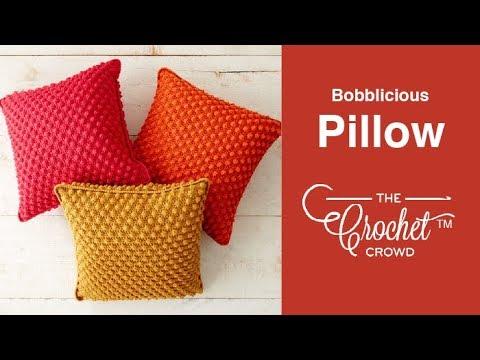 Crochet Bobbilicous Pillows Youtube