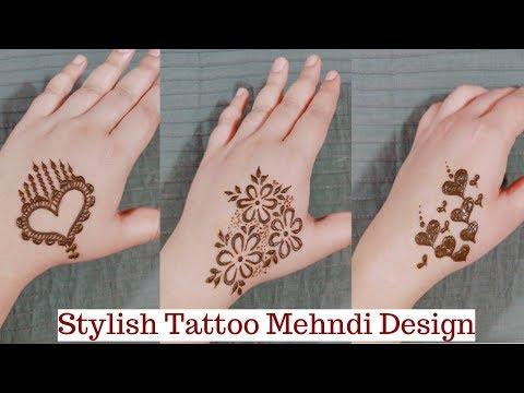 Stylish Tattoo Mehndi Design For Girls Tattoo Mehndi