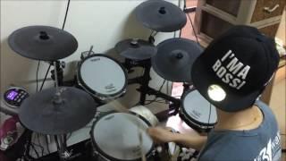【機動戦士ガンダム 】【鉄血のオルフェンズ 】二期 OP Rage of Dust by【SPYAIR】 叩いてみた Drum Cover