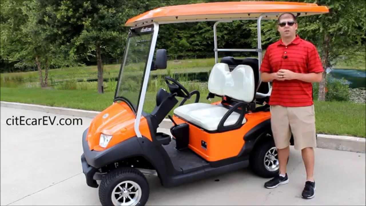 Bintelli 4pr Sport Street Legal Golf Cart - Aluminum Frame - by ...