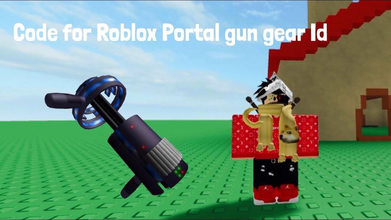roblox portal gun id