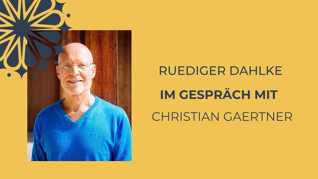 Ruediger Dahlke im Gespräch mit...