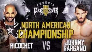Gargano searches for NXT North American Championship against Ricochet, tonight at TakeOver: Phoenix