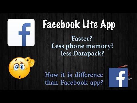 What is Facebook Lite app? Is it better than Facebook app??