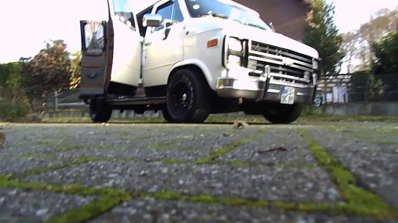 All Chevy 89 chevy van : My ´89 Chevy G20 Conversion Van named