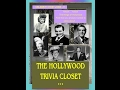 The Hollywood Trivia Closet: First Celebrity & Movie Star Jobs Pt 1-Lucille Ball & more