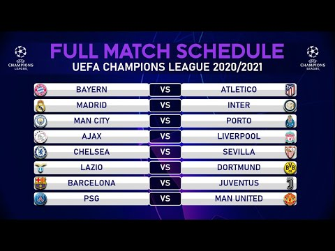 match schedule uefa champions league 2020 2021 group stage youtube match schedule uefa champions league