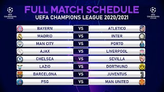 Here is complete match schedule for uefa champions league 2020/2021 | group stageschedule a 00:15schedule b 01:01schedule c 01:47schedule g...