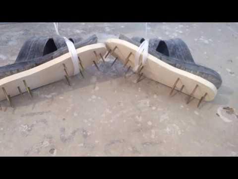 Обувь для наливного пола своими руками