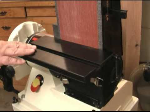 Jet Jsg 96 Disc Belt Sander Youtube