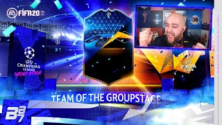 WE GOT ONE! TEAM OF THE GROUP STAGE PACK OPENING! | FIFA 20 ULTIMATE TEAM