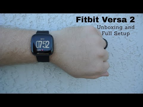 new-fitbit-versa-2-smartwatch-unboxing-and-full-setup!