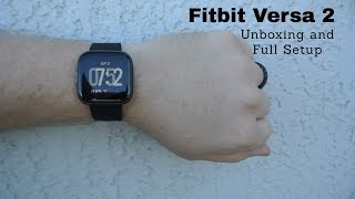 NEW Fitbit Versa 2 Smartwatch Unboxing and Full Setup!