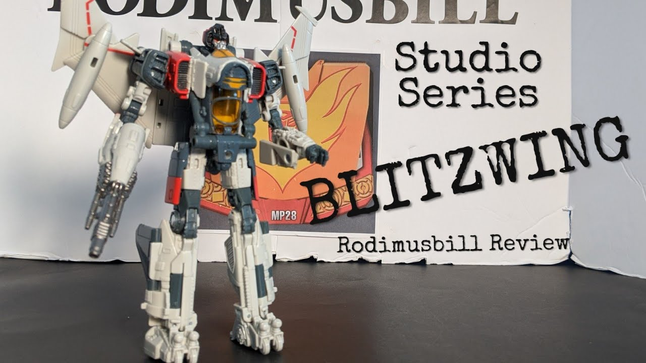 Studio Series 65 Blitzwing Transformers Voyager Review