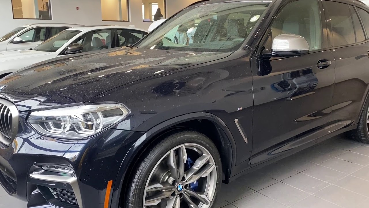 2020 BMW X3 M40i Black Sapphire Walk Around