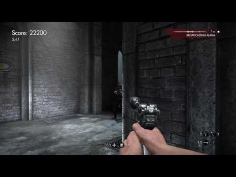 Wolfenstein®: The Old Blood - Prison Docks Master Challenge Trophy Gold Uber |