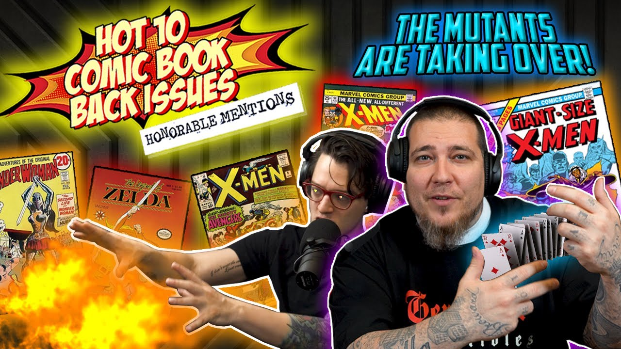 Don't Sleep On These X-tra HOT Comics! 🔥 HOT10 Back Issue Honorable Mentions ft.GemMintCollectibles