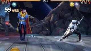 dr strange vs moon knight alliance wars boss battle   marvel contest of champions