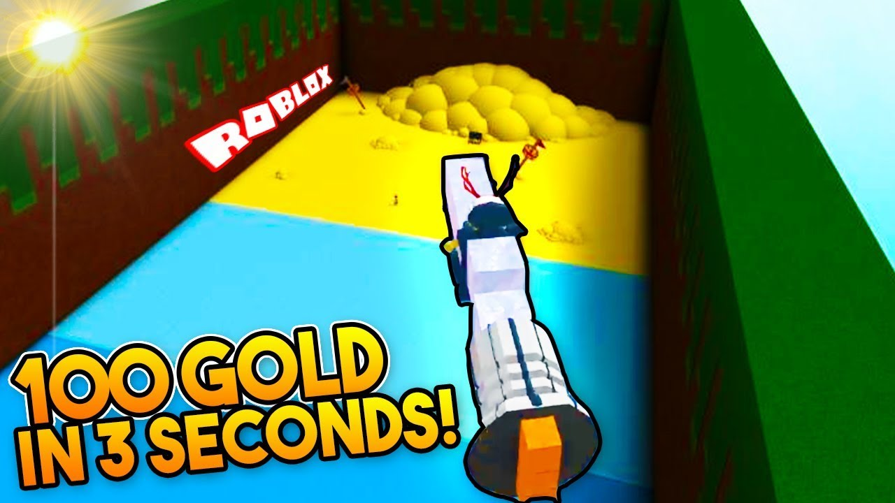 *NEW* GOLD GRINDING GLITCH! (100 Gold in 3 Seconds!) | Build a boat For  Treasure ROBLOX