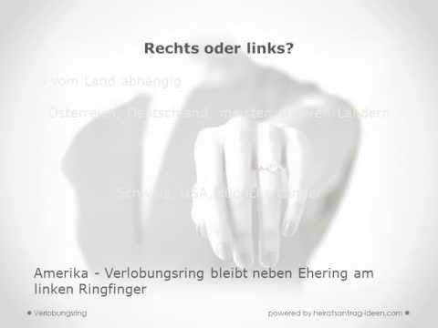 Verlobungsring welche Hand ist die Richtige?