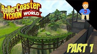RollerCoaster Tycoon World - Jungle Park - Part 1