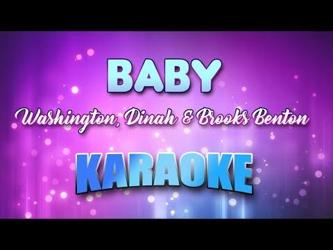 Washington, Dinah & Brooks Benton - (Duet) Baby (You've Got What It Takes) (Karaoke & Lyrics)