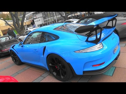 Porsche 911 GT3 RS (991) - Porsche Club Pforzheim South-West-Cooperation Season Opening 2017