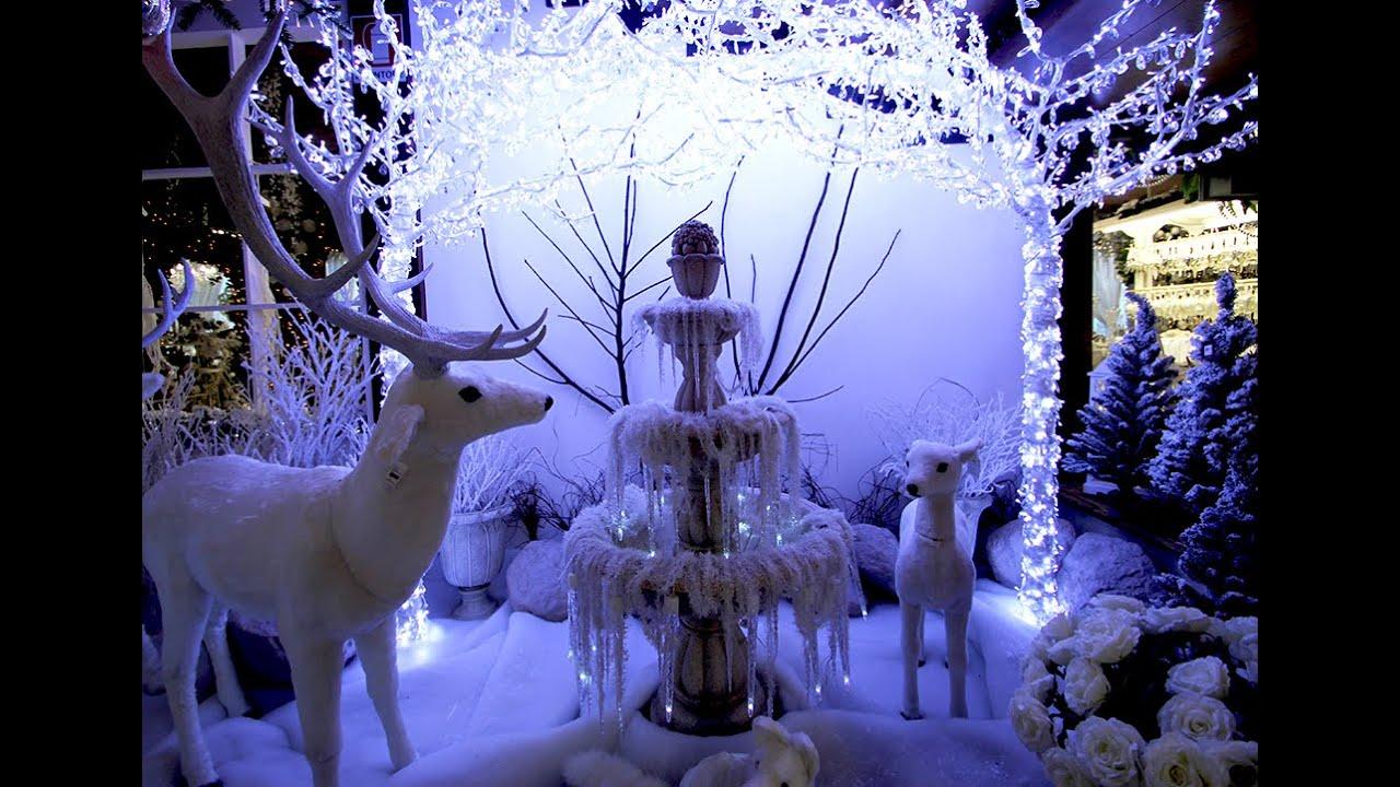 Villaggio di Babbo Natale  Foresta di Ghiaccio  YouTube