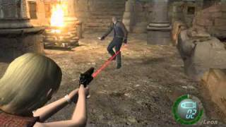 resident evil 4 PC -  ASHLEY vs LEON