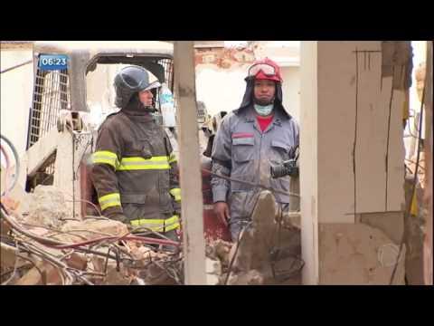 Prédio desaba e deixa um morto em São Roque (SP)