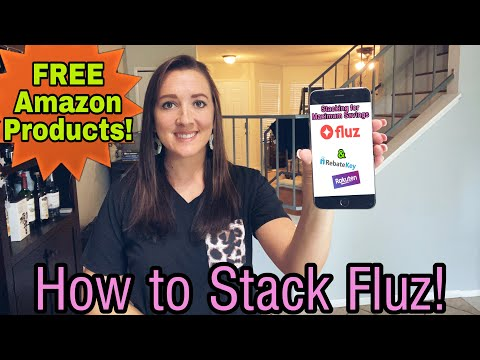 How To Stack Fluz & Get FREE Amazon Products! MAXIMIZE  Your Savings!