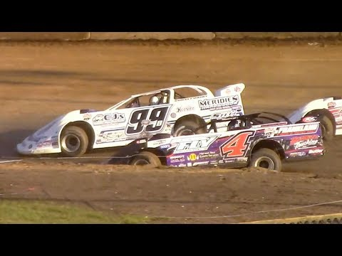 Super Late Model Heat Three | Eriez Speedway | 9-23-18