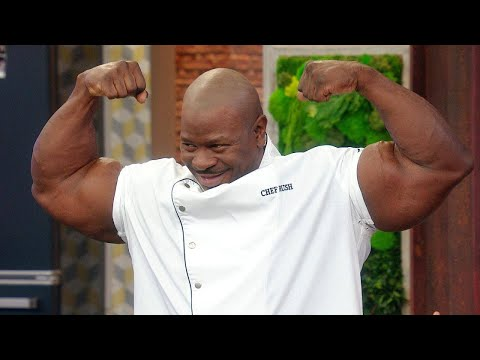 Viral White House Chef With 24-Inch Biceps Talks Internet Fame, Food + Fitness Tips