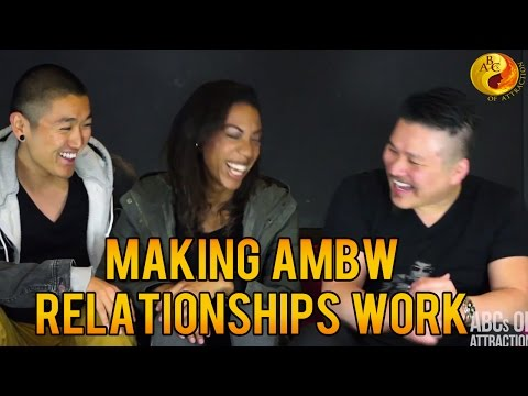 Making Asian Male Black Female Relationships Work by AMBW/BWAM Couple: Blasian Quest Interview from YouTube · Duration:  14 minutes 58 seconds