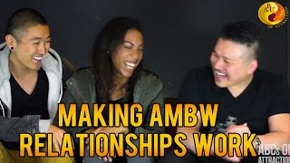 Making Asian Male Black Female Relationships Work by AMBW Couple: Blasian Quest Interview