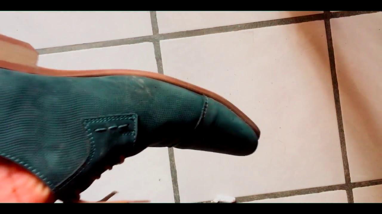 f6599a30 Como limpiar zapatos de ante, nobuk o gamuza - YouTube